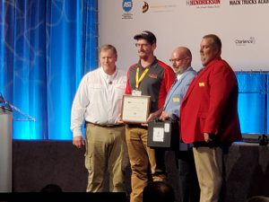 Michael Krause competed in the 2021 TMC SuperTech competition