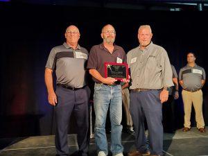 Rick Fisher won the 2021 Allison Transmission Guild Star Award